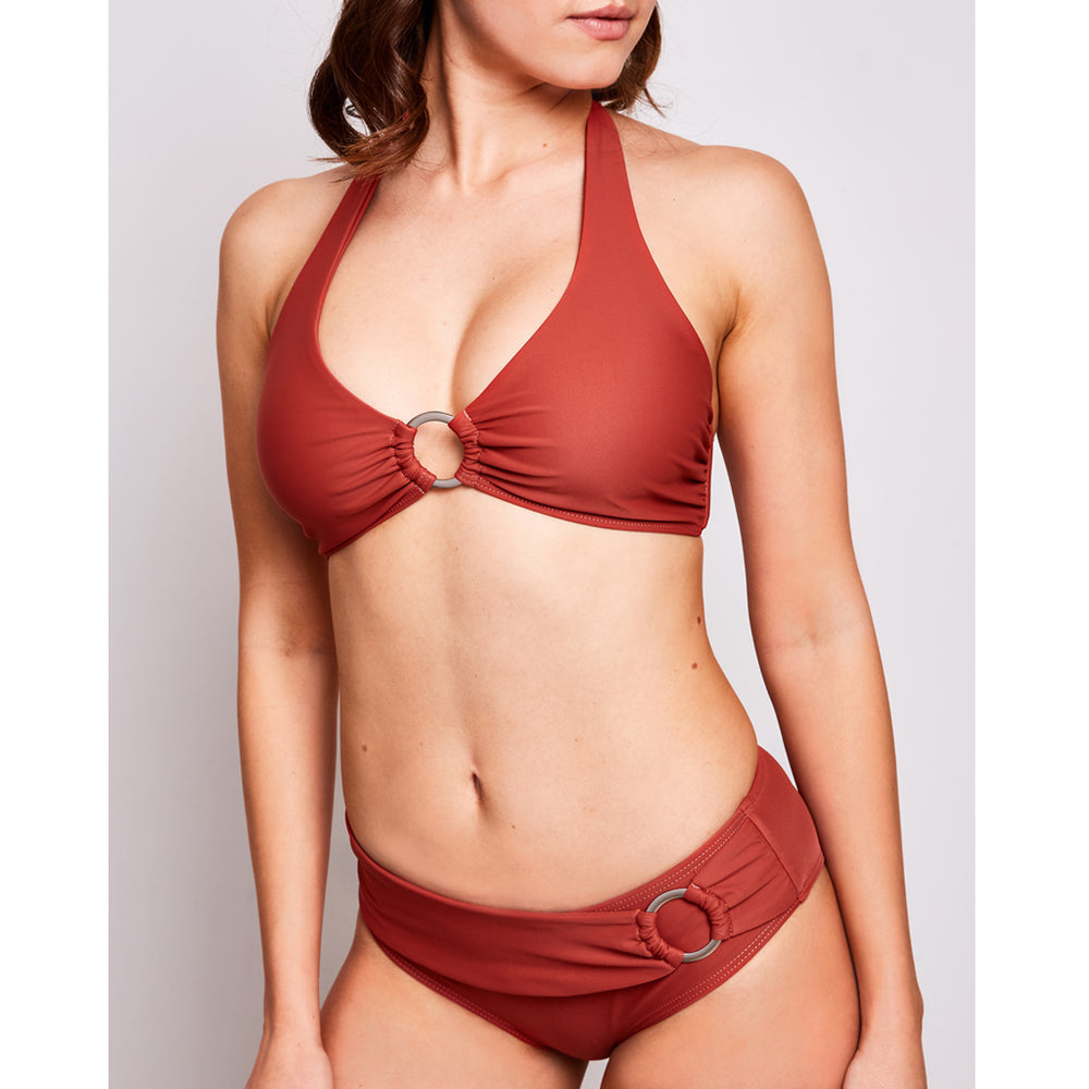 Mia bikini cinnamon swimwear | Contessa Volpi Summer 2019/2020 Collection