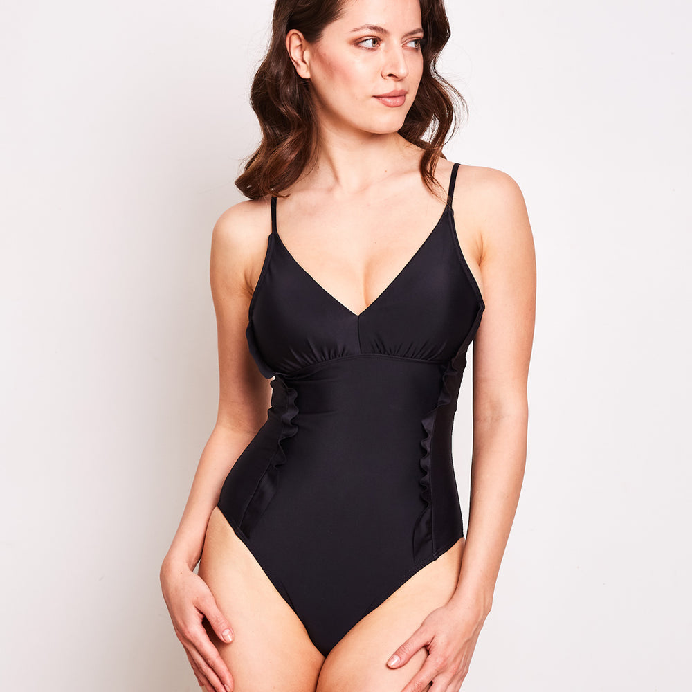 Arianna One Piece Black - 'Absolutely fantastic Australian made swimwear'