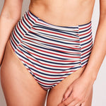 Erica-high-waisted-bikini-bottom-stripes-navy-cherry-white-2-contessa-volpi-swimwear