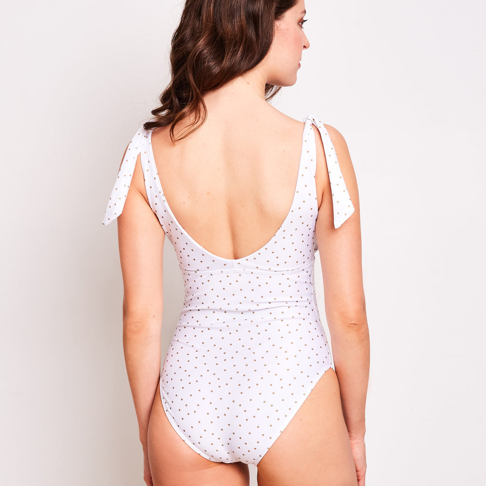 Janet-one-piece-dots-white-back-contessa-volpi-summer-swimwear-collection