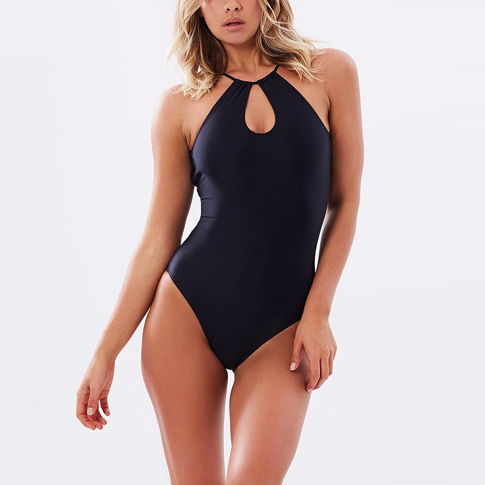 "Emma One Piece Black - ""Obsessed with my Contessa Volpi's exclusive swimsuit!"" Lauren B. - Swimwear by Contessa Volpi"