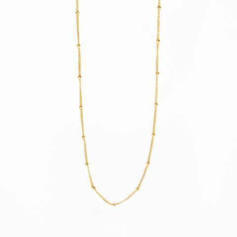 14k Gold Filled Satellite Chain Necklace