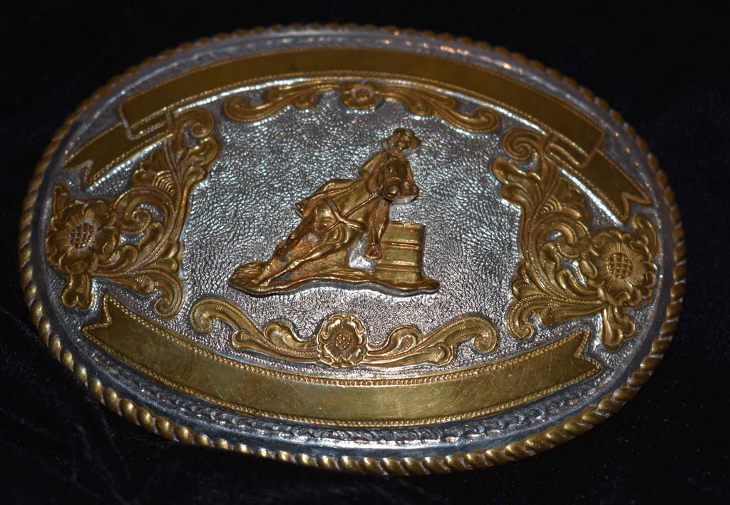 Barrel Racer Belt Buckle