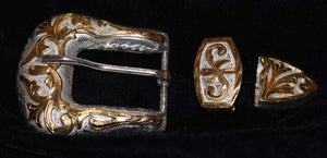 3 Piece Western Buckle Set