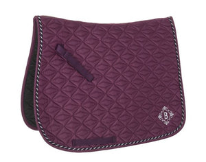 Dressage Saddle Pad with Corded Trim