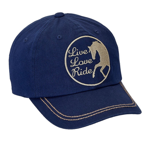 Baseball Cap - Live, Love, Ride