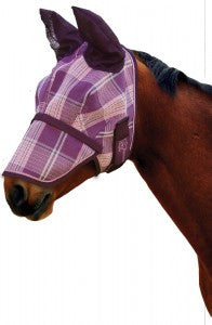 Fly Mask w/Removable Nose Piece - Kensington