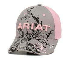Ariat Women's Baseball Cap - Pink with Scroll Logo