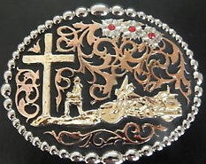 Belt Buckle - Biker of Faith