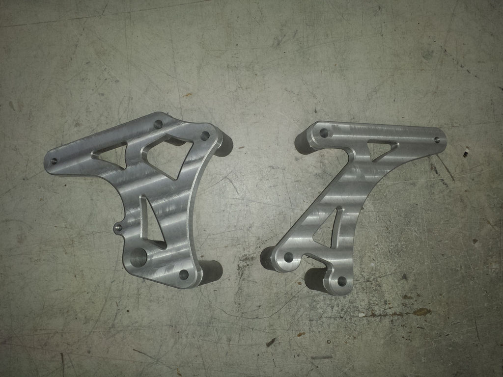XV750 Rear Set Plates
