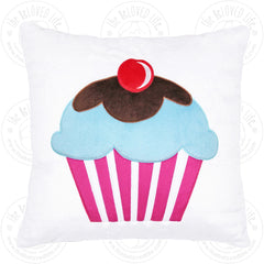The BeLOVED Life CUPCAKE Plush Cushion Travel Pillow for Kids