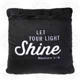 The BeLOVED Life SHINE Plush Cushion Travel Pillow for Kids