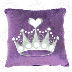 The BeLOVED Life PRINCESS Plush Cushion Travel Pillow for Kids