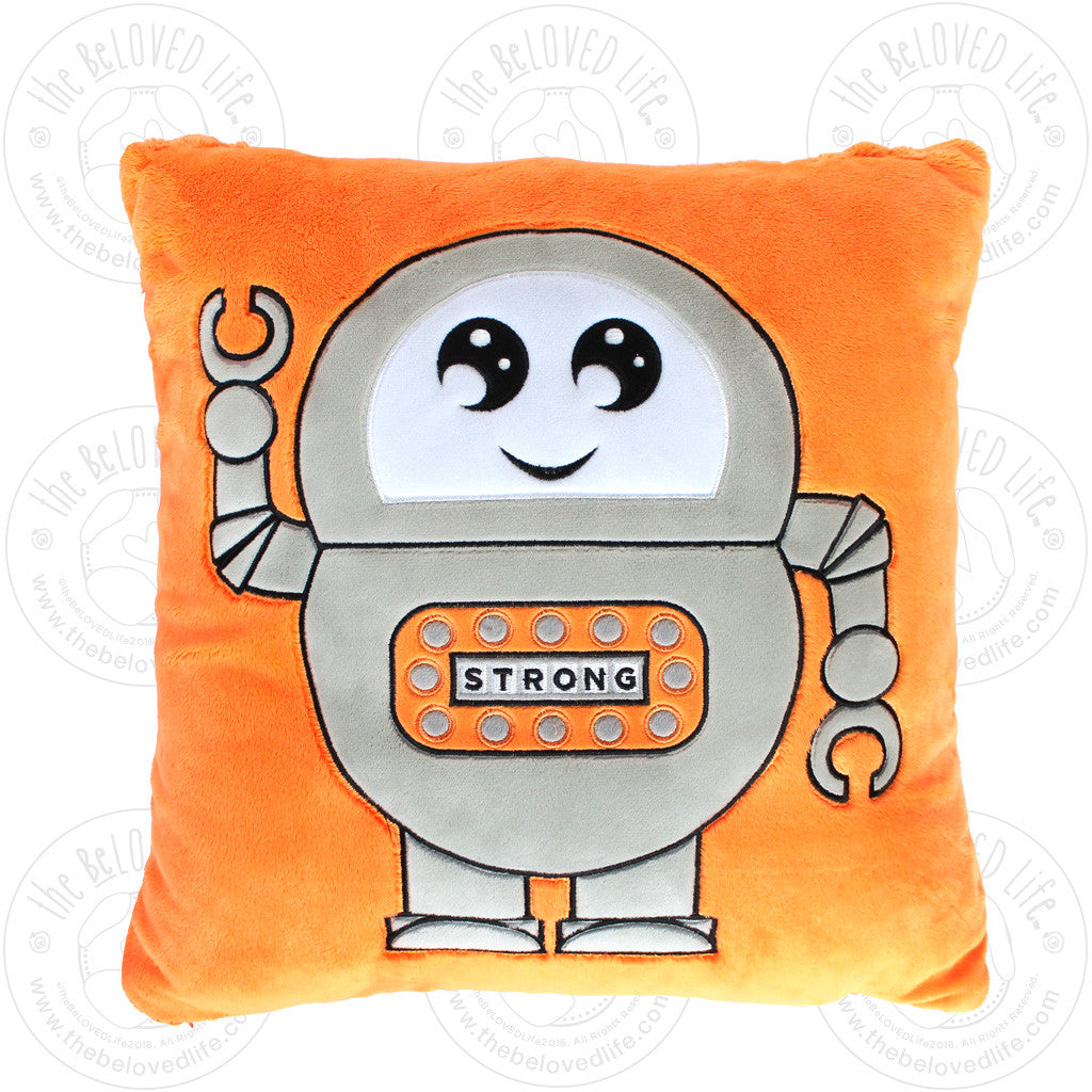 The BeLOVED Life STRENGTH Plush Cushion Travel Pillow for Kids