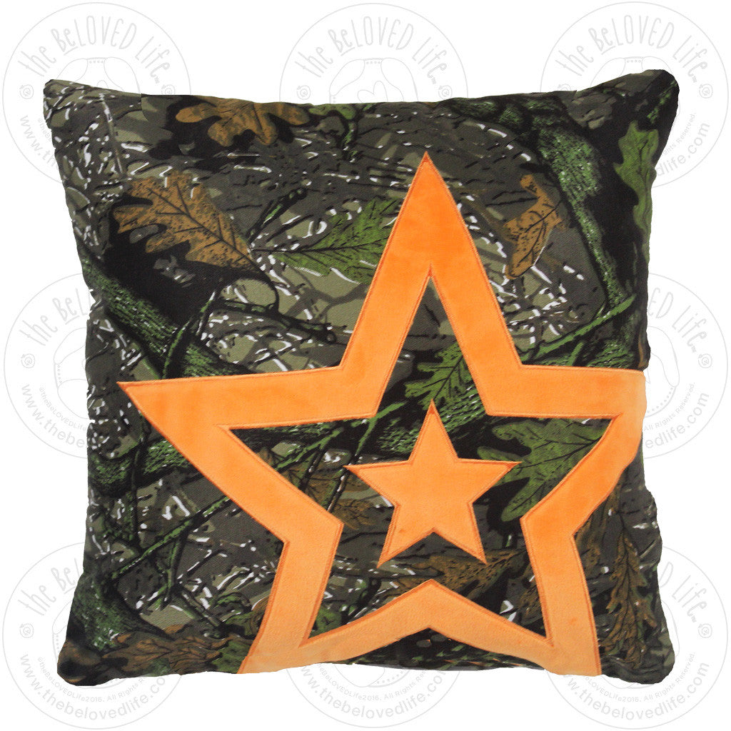 The BeLOVED Life REFUGE Camo Cushion Travel Pillow for Kids