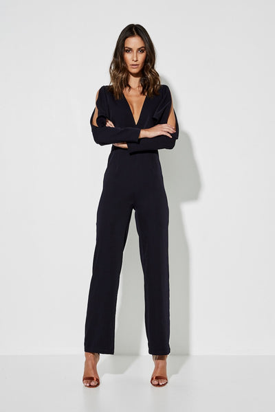 The Superiority Jumpsuit - Navy