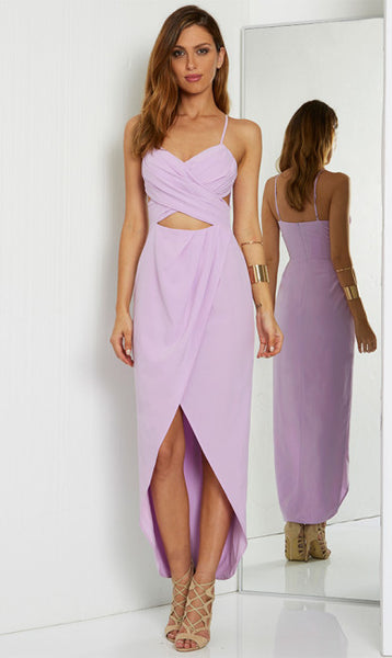 GEMSTONE DRESS - LILAC