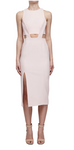 Bandage Waist Cut Out Dress