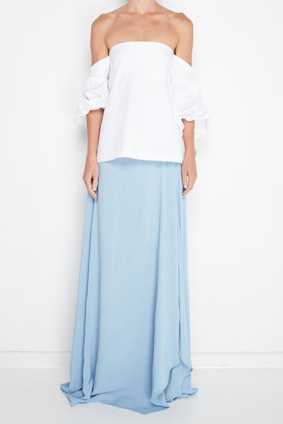 Diagonal Maxi Skirt