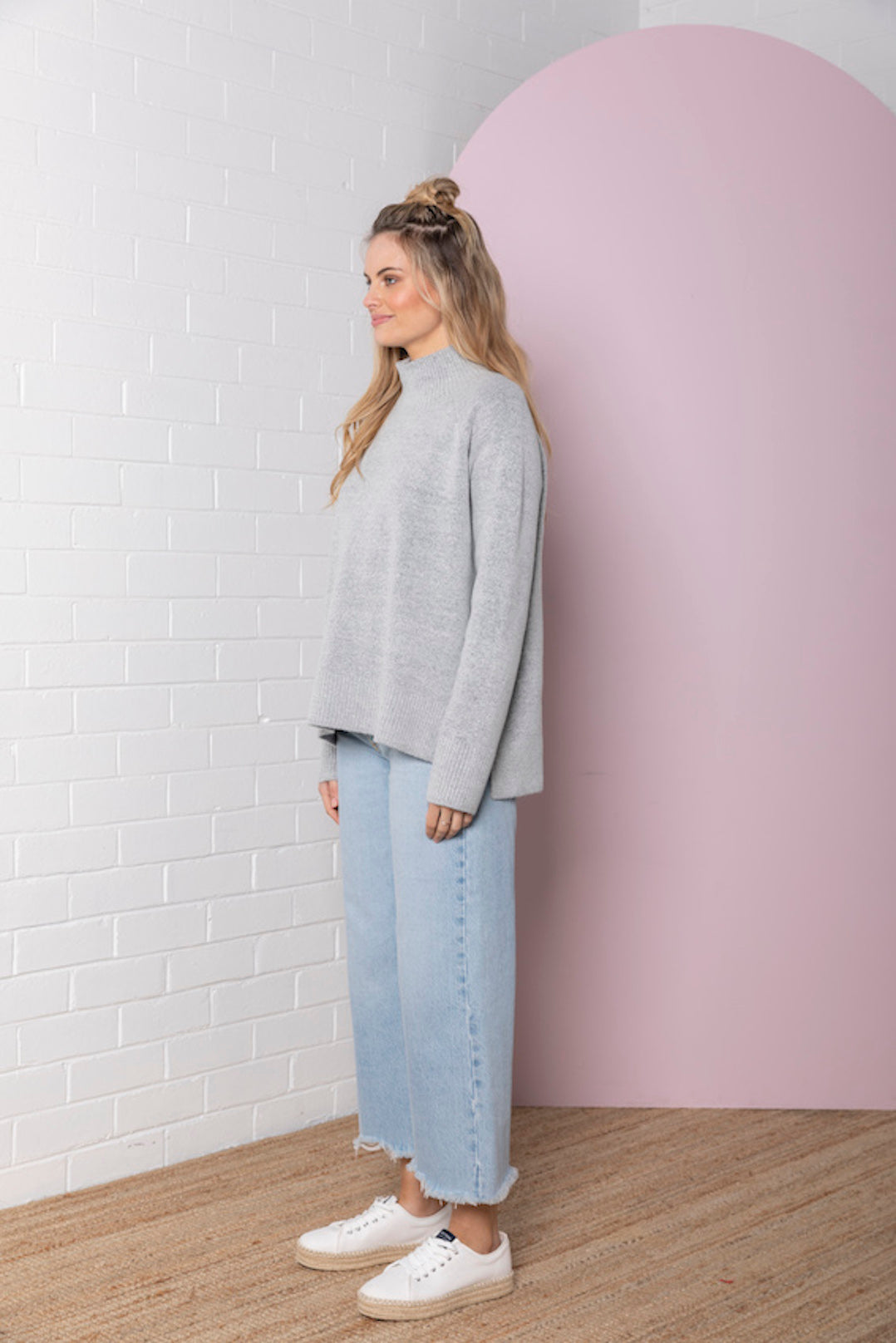 Genevieve Roll Neck Jumper