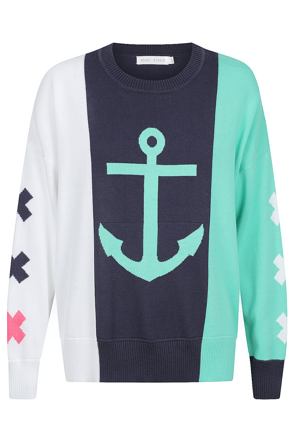 Sail Away Knit - Dusty Navy