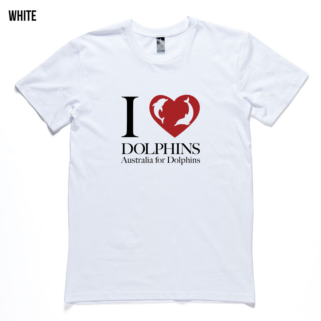 I love dolphins  - Men's T-shirt