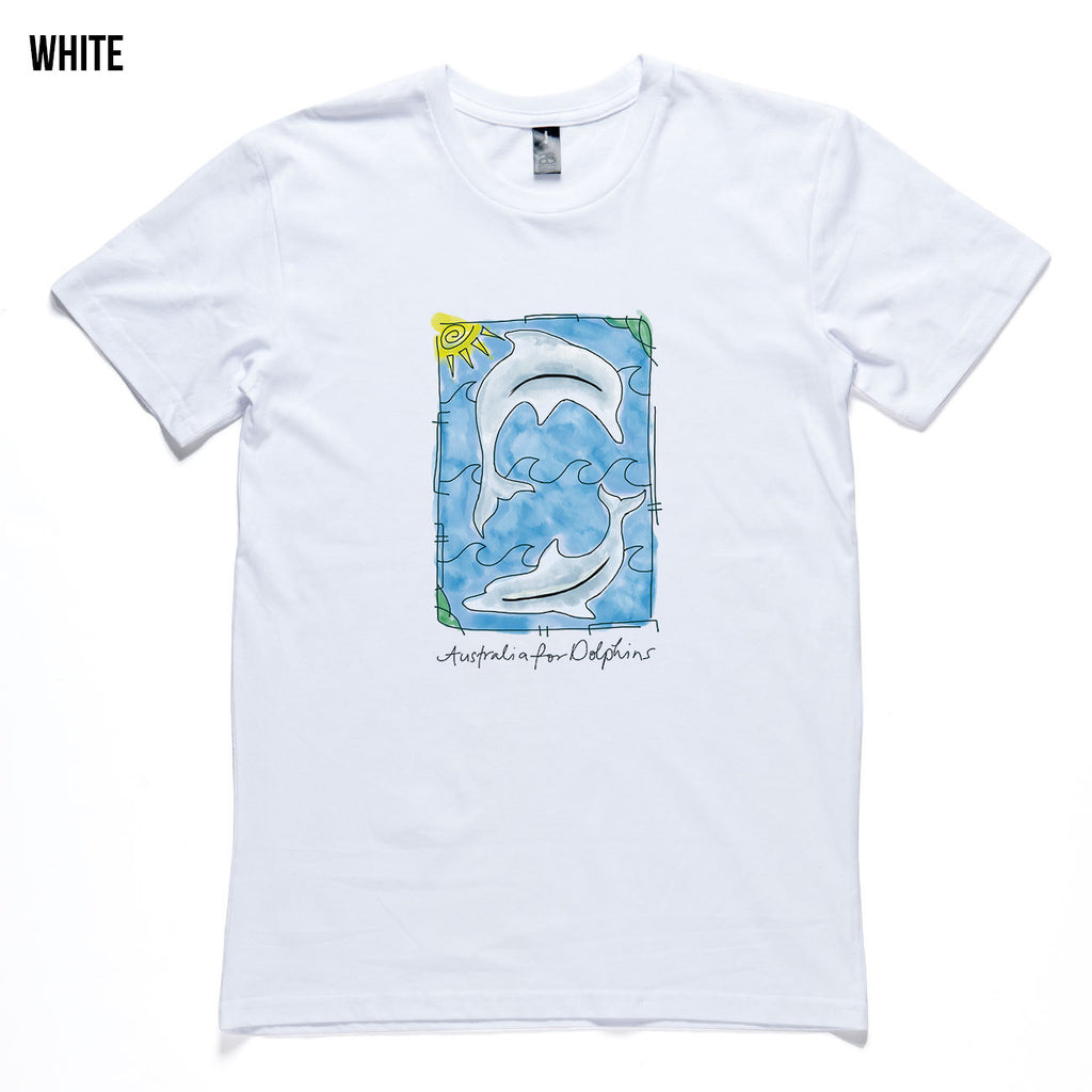 Watercolour dolphins - Men's T-shirt