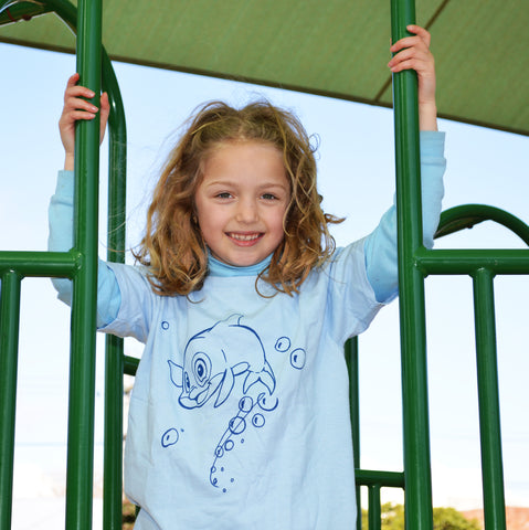 LIGHT BLUE Kids T-Shirt