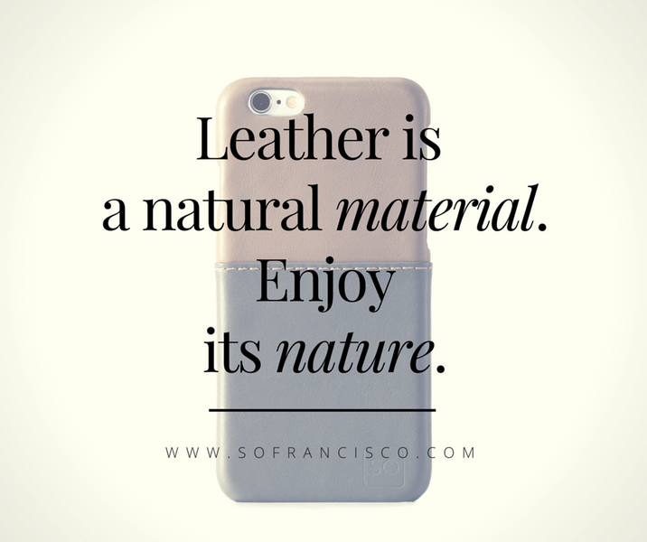 Don't get fooled by the name Genuine Leather… and look for Full-Grain Leather instead!