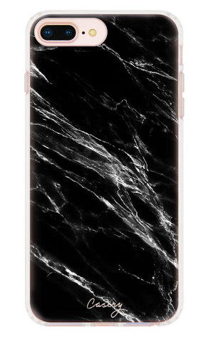 Black Marble iPhone 7/6s/6 Plus Designer Case