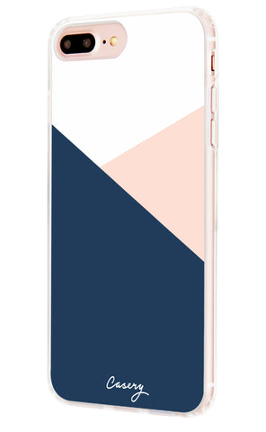 Color Block iPhone 7/6s/6 Plus Designer Case Side View