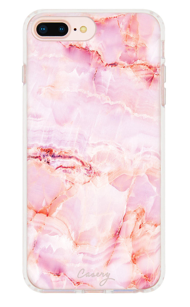 Rose Marble iPhone 7/6s/6 Plus Case