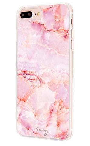 Rose Marble iPhone 7/6s/6 Plus Designer Case Side View
