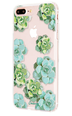 Succulents iPhone 7/6s/6 Plus Designer Case Side View