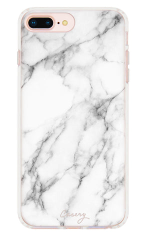 White Marble iPhone 7/6s/6 Plus Designer Case