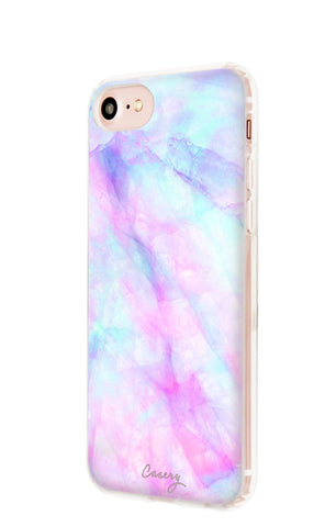 Iridescent Crystal iPhone 7/6s/6 Designer Case Side View