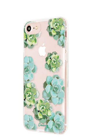 Succulents iPhone 7/6s/6 Designer Case Side View