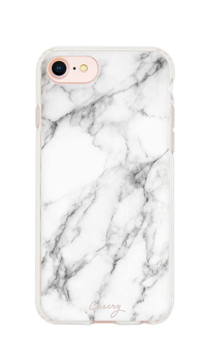 White Marble iPhone 7/6s/6 Designer Case