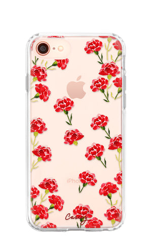 Carnation Nation iPhone 8 Designer Case