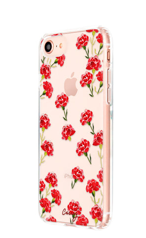 Carnation Nation iPhone 8 Designer Case Side View