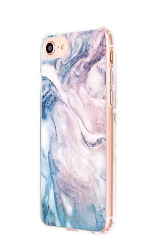 Cloudy Marble iPhone 8 Designer Case Side View