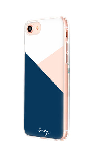 Color Block iPhone 8 Designer Case Side View