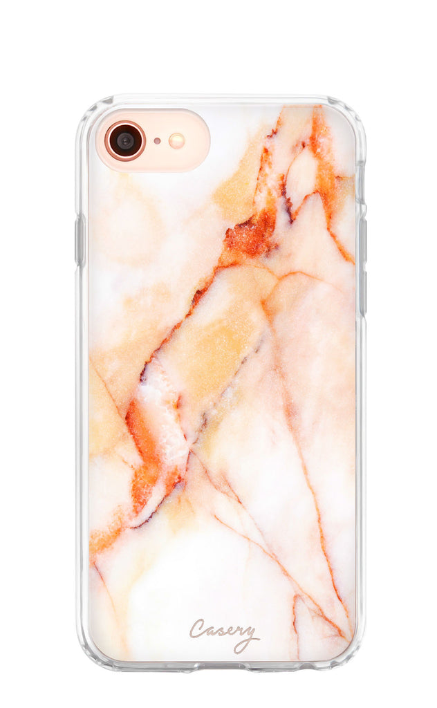 Creamsicle Marble iPhone 8 Case