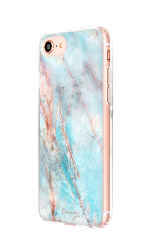 Frosty Marble iPhone 8 Designer Case Side View