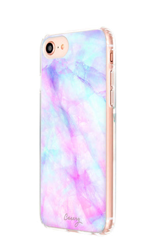 Iridescent Crystal iPhone 8 Designer Case Side View