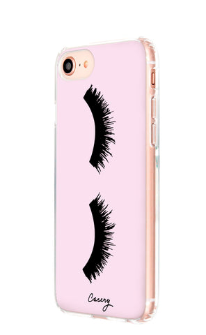 Lashes iPhone 8 Designer Case Side View