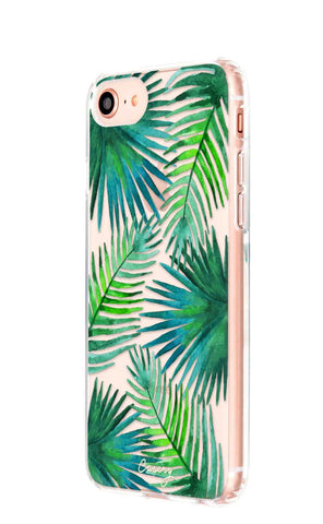 Palm Leaves iPhone 8 Designer Case Side View