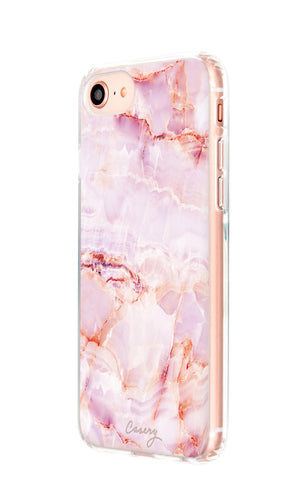 Rose Marble iPhone 8 Designer Case Side View