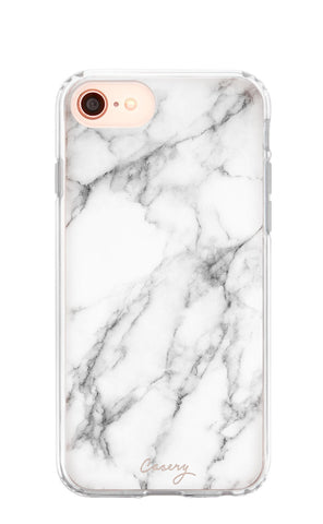 White Marble iPhone 8 Designer Case