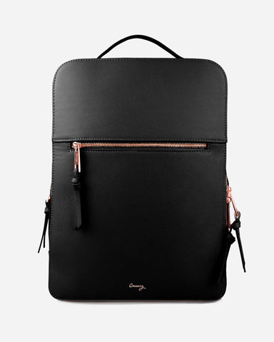 London Travel Backpack Black Designer Case